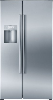 "Serie  8 36"" Counter-Depth Side-by-Side Refrigerator 800 Series - Stainless Steel B22CS80SNS"