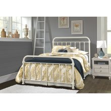 Kirkland Queen Bed Set - Soft White
