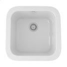 White Allia Fireclay Single Bowl Bar/Food Prep Sink Product Image