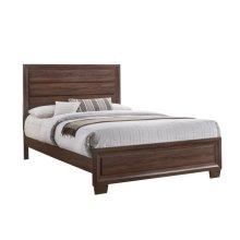 Brandon Transitional Medium Brown Eastern King Bed