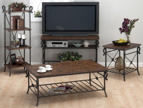 Red Hot Buy-BE HAPPY!Rutledge End Table