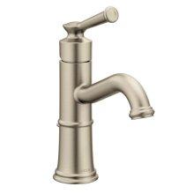 Belfield brushed nickel one-handle bathroom faucet