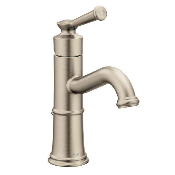Belfield Brushed Nickel One Handle Bathroom Faucet