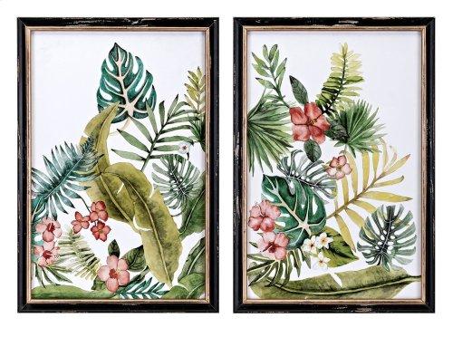 Macaw Framed Artwork - Ast 2