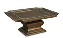 Continental Square Cocktail Table - Crackle Bronze