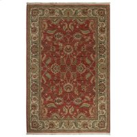 Agra Red Rectangle 4ft 3in X 6ft Product Image