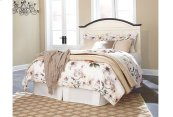 Woodanville - White/Brown 3 Piece Bed Set (King)