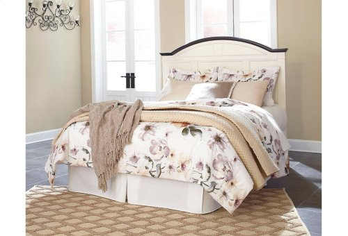 Woodanville - White/Brown 3 Piece Bed Set (Cal King)