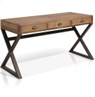 """Olie - """"x"""" Base Desk With 3 Drawers Product Image"""