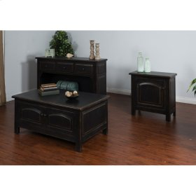 """Accent End Table Dimensions : 30"""" X 15"""" X 30""""h"""