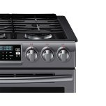 Samsung Appliances 5.8 Cu. Ft. Slide-In Gas Range With True Convection