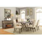 Webber Rustic Driftwood Five-piece Dining Set Product Image
