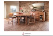"""24"""" Barstool for Counter Height Table - with Faux Leather seat**"""