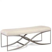 Sophie - 48-inch Upholstered Bed Bench - Natural Finish