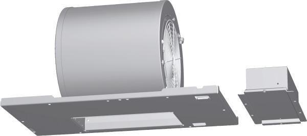 Ventilation Installation Accessories 600 CFM Internal Blower VTN600F