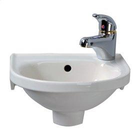 Rosanna Wall Hung Basin - White