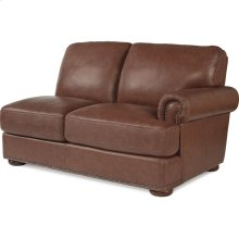 Andrew Left-Arm Sitting Loveseat w/ Brass Nail Head Trim