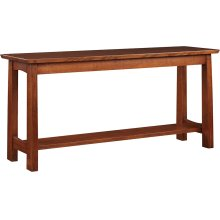 Oak Highlands Console Table