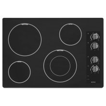30-inch Wide Electric Cooktop with Speed Heat Element