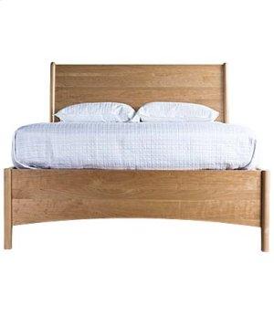 Brancusi Sleigh Storage Bed - Double