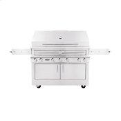 K1000 Freestanding Hybrid Fire Grill