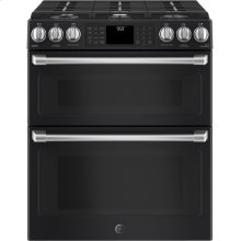 Slide-In Front Control, Double Oven, 6.7 cu ft (2.4/4.3), Self Clean, True Convection Oven