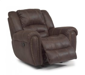 Downtown Fabric Gliding Recliner