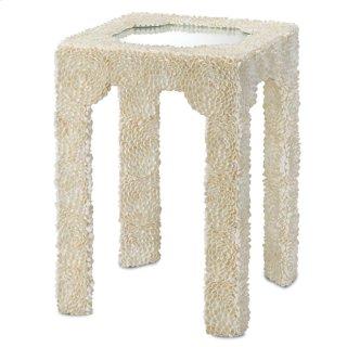 Leena Side Table - 24.25h x 17.25w x 17.25d