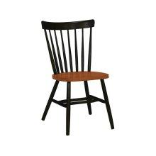 Copenhagen Chair in Black & Cherry