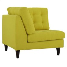 Empress Upholstered Fabric Corner Sofa in Sunny