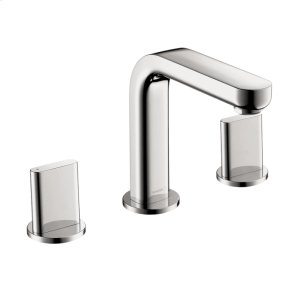 Chrome Metris S Widespread Faucet with Full Handles, 1.2 GPM
