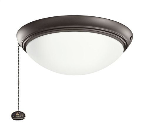 """LED Low-Profile 11.5"""" Light Kit Satin Natural Bronze"""