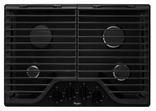 "WCG51US0BD - 30"" GAS COOKTOP (BLACK) - AVAILABLE AT EDMOND LOCATION ONLY!"