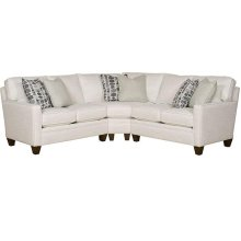 Cory LAF One Arm Loveseat, Cory Wedge, Cory RAF One Arm Loveseat