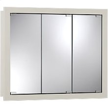 """30""""W x 26""""H - Classic White Wood Cabinet"""