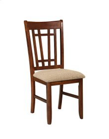 Mission Casuals Lattice Back Side Chair