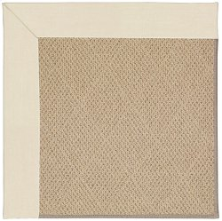 Creative Concepts-Cane Wicker Canvas Sand Machine Tufted Rugs