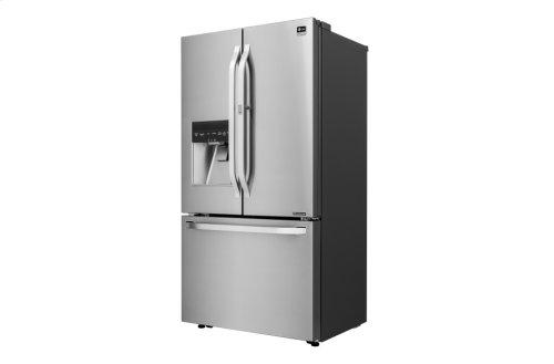 CLOSEOUT - LG STUDIO - 24 cu. ft. Counter-Depth French Door Refrigerator with Door-in-Door®