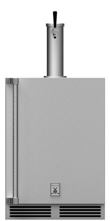 "24"" Hestan Outdoor Single Faucet Beer Dispenser - GFDS Series"