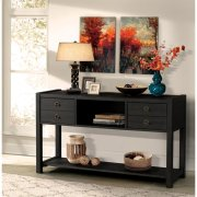 Perspectives - Console Table - Ebonized Acacia Finish Product Image