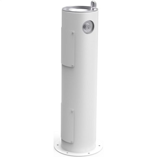 Elkay Outdoor Fountain Pedestal Non-Filtered, Non-Refrigerated White