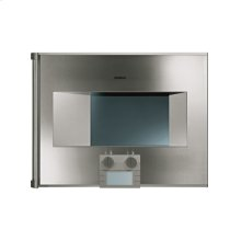 "200 series Combi-steam oven BS 270 611 Stainless steel-backed full glass door Width 24"" (60 cm) Right-hinged Controls at the bottom"