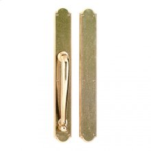 """Arched Push/Pull Set - 2 3/4"""" x 20"""" White Bronze Brushed"""