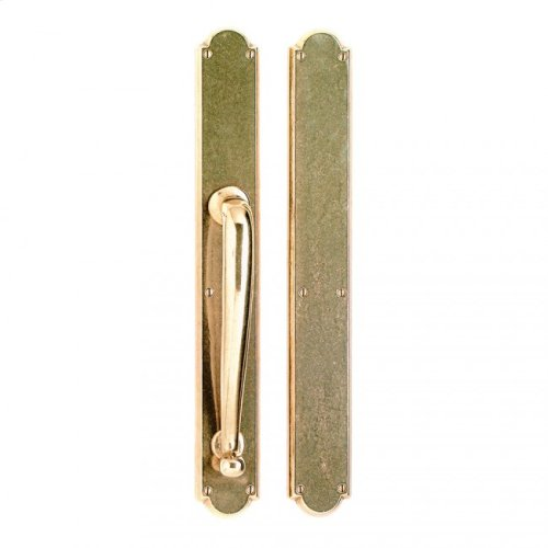 """Arched Push/Pull Set - 2 3/4"""" x 20"""" Silicon Bronze Light"""
