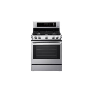 LG Appliances6.3 cu. ft. Gas Single Oven Range with ProBake Convection® and EasyClean®