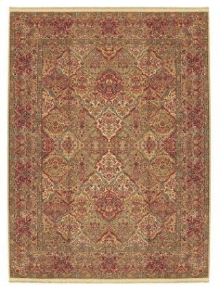 Empress Kirman Multi Rectangle 5ft 9in X 9ft