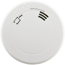 Smoke & Carbon Monoxide Alarm with Voice & Location