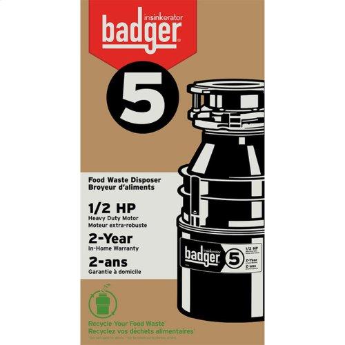 Badger 5 Garbage Disposal