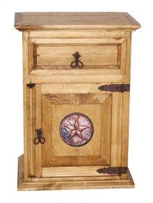 1 Drawer 1 Door Ns W/copper St