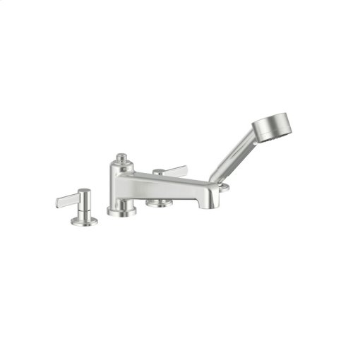 Roman Tub Faucet With Hand Shower Darby Series 15 Satin Nickel